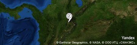 Yandex Map of 1.091 miles of Mesa de Jéridas