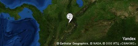 Yandex Map of 0.718 miles of Mesa de Jéridas