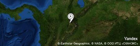 Yandex Map of 2.640 miles of La Fuente