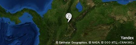 Yandex Map of 0.254 miles of El Playón