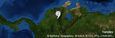 Yandex Map of 0.943 miles of Cuchilla Cerro Azul