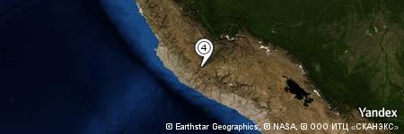 Yandex Map of 0.961 miles of Cerro Yarista