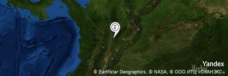Yandex Map of 0.506 miles of Cordillera La Tórtola
