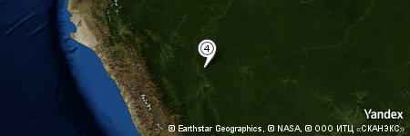 Yandex Map of 5.444 miles of Quebrada Lecheyaco