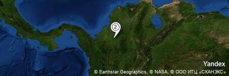 Yandex Map of 0.424 miles of El León