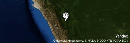 Yandex Map of 6.847 miles of Nuevo Progreso