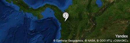 Yandex Map of 0.716 miles of Murindó