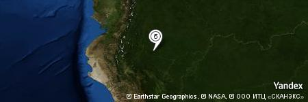 Yandex Map of 9.620 miles of Río Shapuri