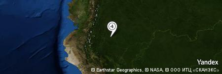Yandex Map of 2.458 miles of Limoncocha