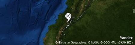 Yandex Map of 1.847 miles of El Tambo del Obispo