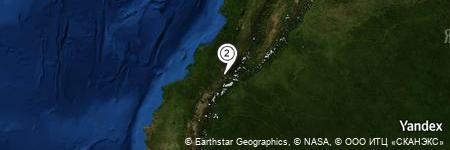 Yandex Map of 1.461 miles of La Urselina