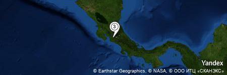 Yandex Map of 0.356 miles of Tinamaste