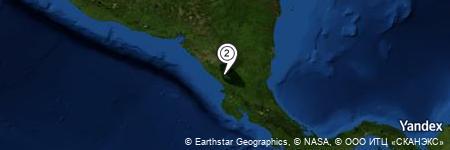 Yandex Map of 0.663 miles of La Concepción