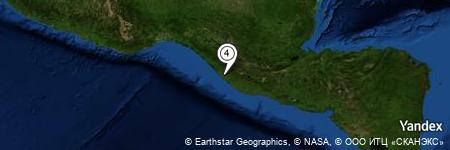 Yandex Map of 0.501 miles of Las Delicia
