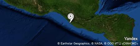 Yandex Map of 2.017 miles of Los Pozuelos