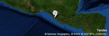 Yandex Map of 1.798 miles of Altamira (La Providencia)