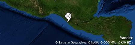 Yandex Map of 1.058 miles of Piedras Negras