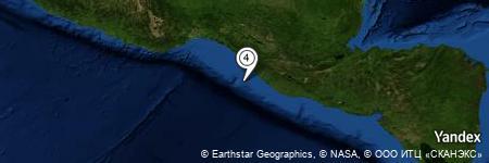 Yandex Map of 36.231 miles of Miguel Hidalgo