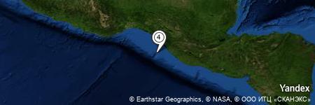 Yandex Map of 39.556 miles of Miguel Hidalgo