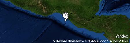 Yandex Map of 39.959 miles of Pasito de la Señora