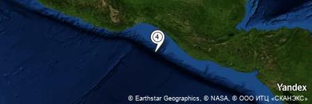 Yandex Map of 85.021 miles of Pasito de la Señora