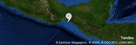 Yandex Map of 15.487 miles of Rincón de Caballar