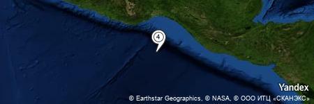 Yandex Map of 141.663 miles of Islas Estrete