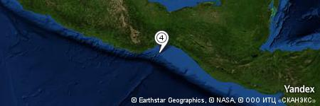 Yandex Map of 33.967 miles of Punta Chipehua