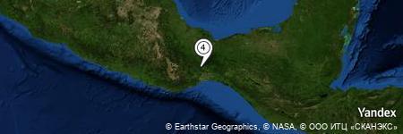 Yandex Map of 1.295 miles of Cerro El Borrego