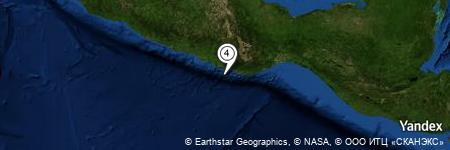 Yandex Map of 19.352 miles of Laguna la Encomienda