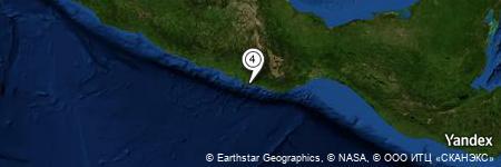 Yandex Map of 0.417 miles of Isla El Venado