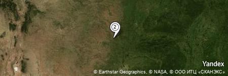 Yandex Map of 0.773 miles of Oknoname 051006 Reservoir