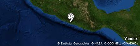 Yandex Map of 1.557 miles of Cerro San Isidro