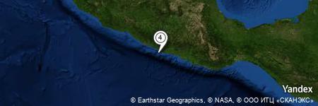Yandex Map of 5.365 miles of Corvillo
