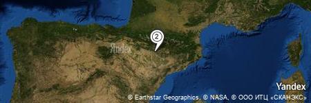 Yandex Map of 0.032 miles of El Grado