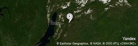 Yandex Map of 12.418 miles of Gora Moyl