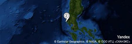 Yandex Map of 10.856 miles of Santo Niño River