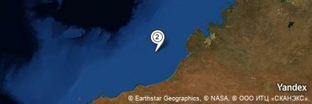 Yandex Map of 75.209 miles of Clarke Reef
