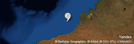 Yandex Map of 83.574 miles of Clarke Reef