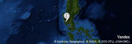 Yandex Map of 0.392 miles of Mount Balitog