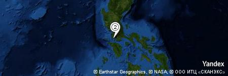 Yandex Map of 1.452 miles of Nonongcasto