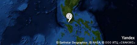 Yandex Map of 0.214 miles of Sampaguita