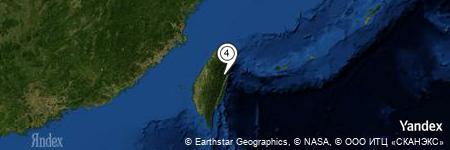 Yandex Map of 1.055 miles of Lan Shan Nanfeng
