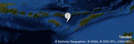 Yandex Map of 50.870 miles of Tanjung Aimanu