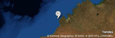 Yandex Map of 16.749 miles of Talboys Rock