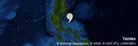 Yandex Map of 13.656 miles of Lantao Island