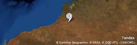 Yandex Map of 16.827 miles of Dragon Tree Soak