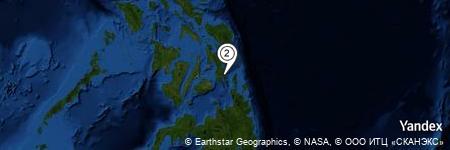 Yandex Map of 0.430 miles of Abrecia