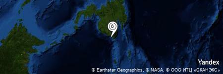 Yandex Map of 0.543 miles of Baliton River