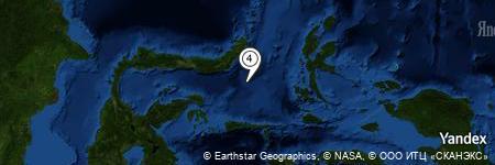 Yandex Map of 62.660 miles of Batu Mandi